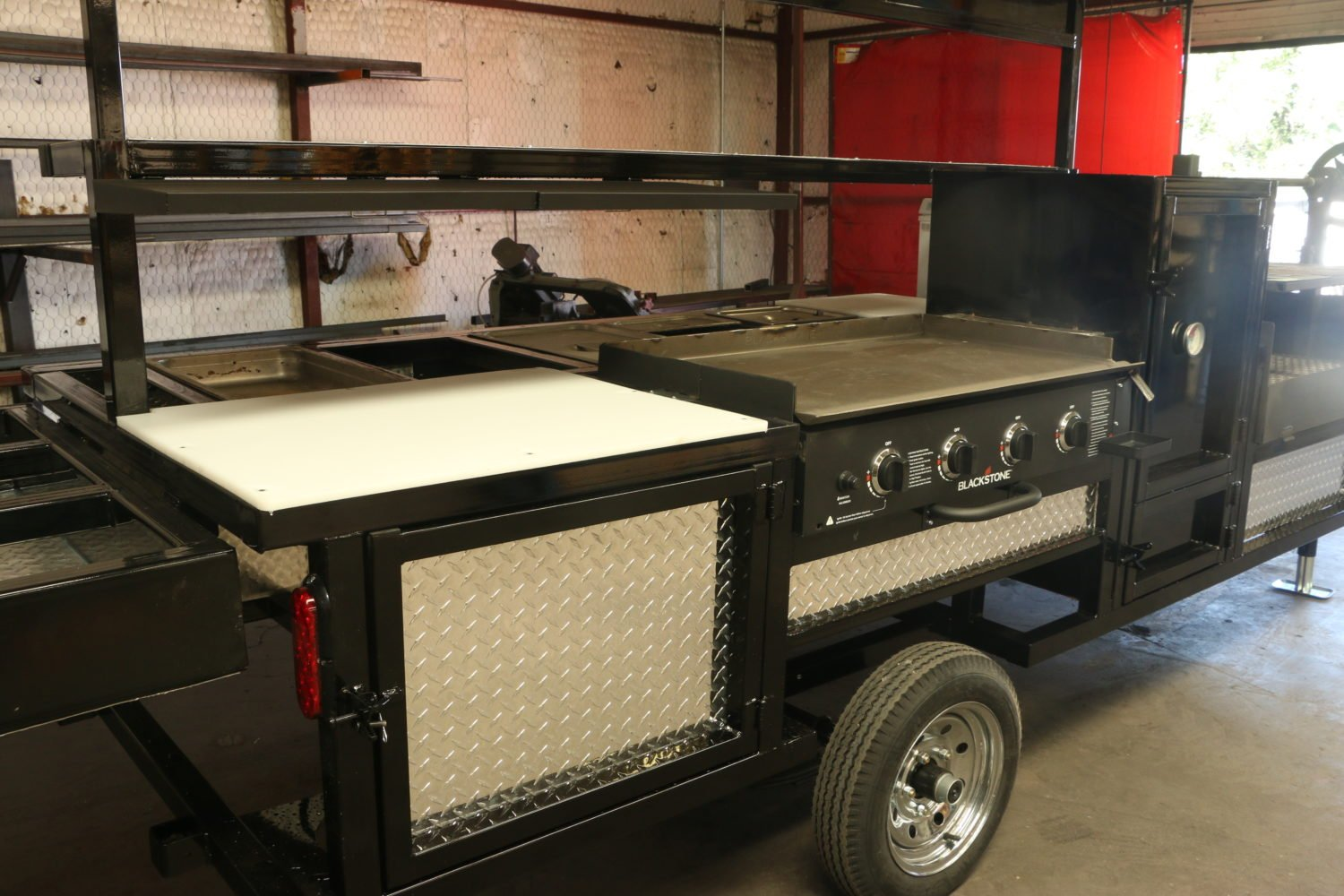 Texan Fully Loaded Concession Trailer Amp Freezer Omg Grills